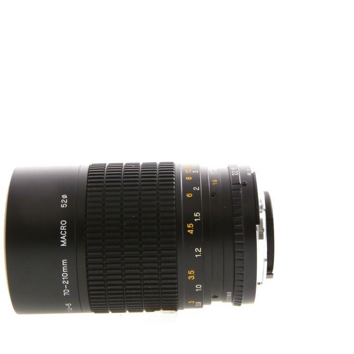 Osawa 70-210mm F/4-5 Macro AI Manual Focus Lens For Nikon {52}