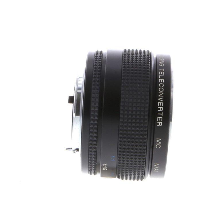 Vivitar 2X Macro Focusing MC Teleconverter, for Nikon AI Mount