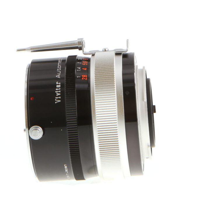 Vivitar 3X 3X-3 Auto Teleconverter, for Nikon Non-AI Mount