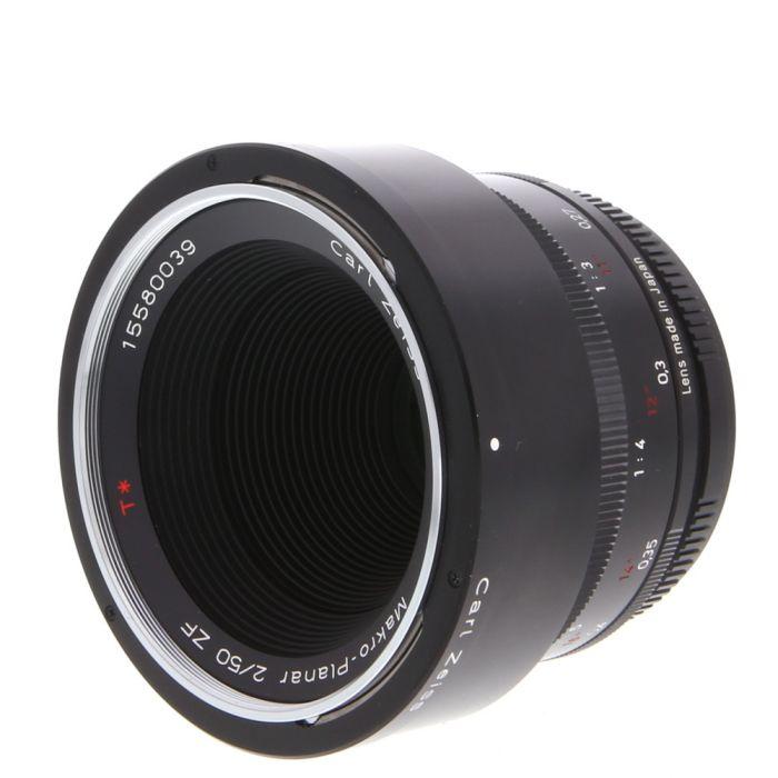 Zeiss 50mm F/2 ZF Makro Planar T* AIS Manual Focus Lens For Nikon {67}