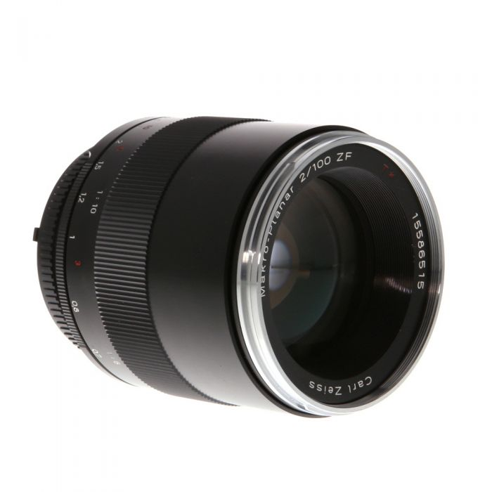 Zeiss 100mm F/2 Makro Planar ZF T* Manual Focus Lens For Nikon {67}