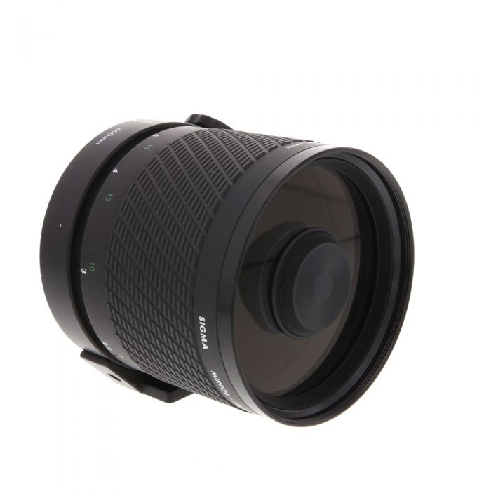 Sigma 600mm F/8 Mirror Manual Focus Lens For Nikon {95, 30.5 Drop-In}