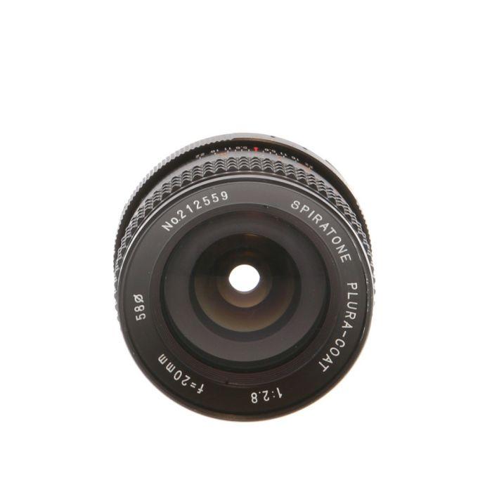 Miscellaneous Brand 20mm F/2.8 AIS Manual Focus Lens For Nikon {58}