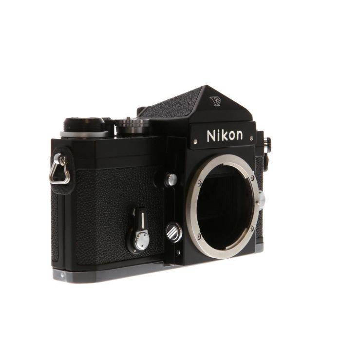 Nikon F 35mm Camera Body, Black, Standard Prism
