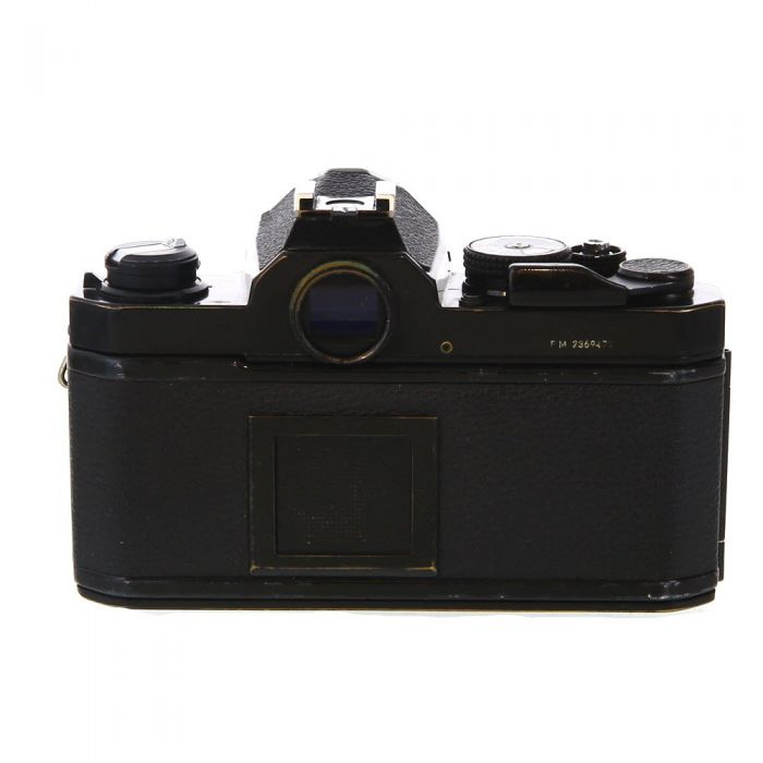 Nikon FM 35mm Camera Body, Black