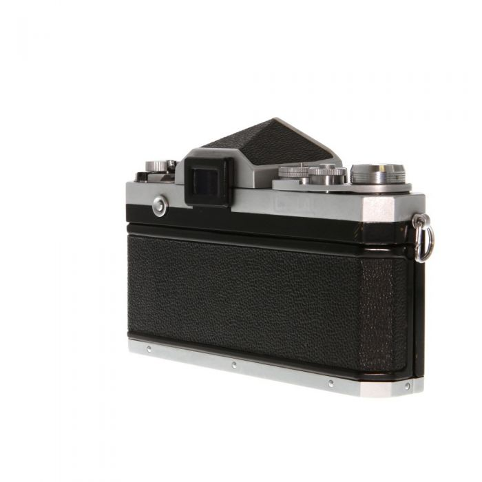 Nikon F  35mm Camera Body, Chrome, Standard Prism