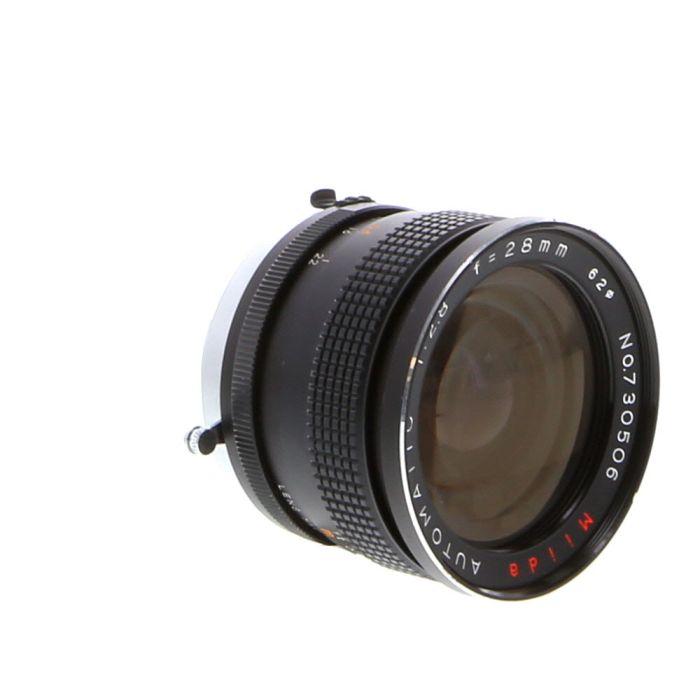 Miscellaneous Brand 28mm F/2.8 Manual Focus Lens For Minolta MC Mount {62}