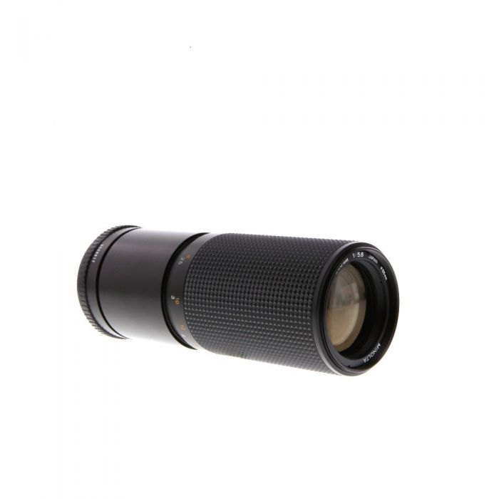 Minolta 100-200mm F/5.6 MD Mount Manual Focus Lens {55}