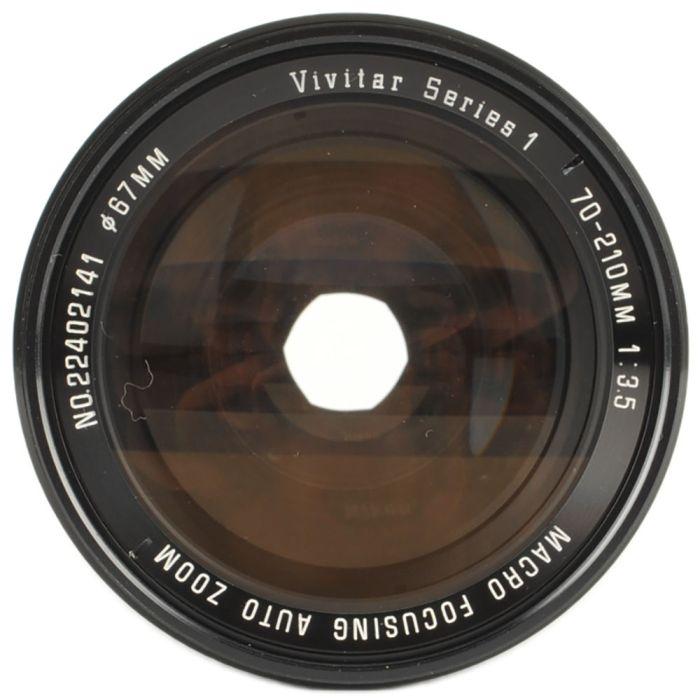 Vivitar 70-210mm F/3.5 Series 1 Macro Manual Focus Lens For Minolta MC Mount {67}