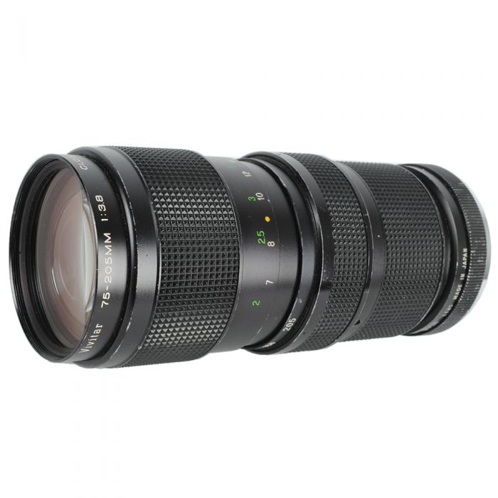 Vivitar 75-205mm F/3.8 Macro 2-Touch Manual Focus Lens For Minolta MC Mount {58}