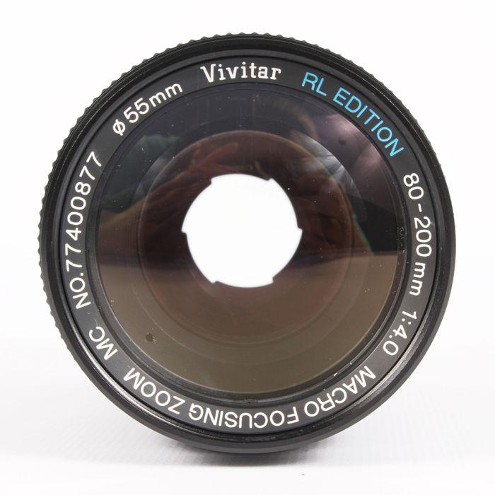 Vivitar 80-200mm F4 Macro Manual Focus Lens For Minolta MD Mount {55}