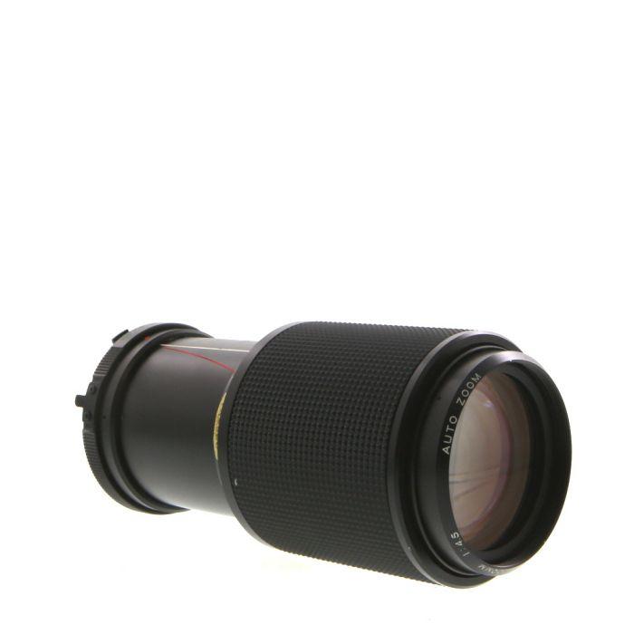Vivitar 80-200mm F/4.5 Macro Manual Focus Lens For Minolta MD Mount {55}