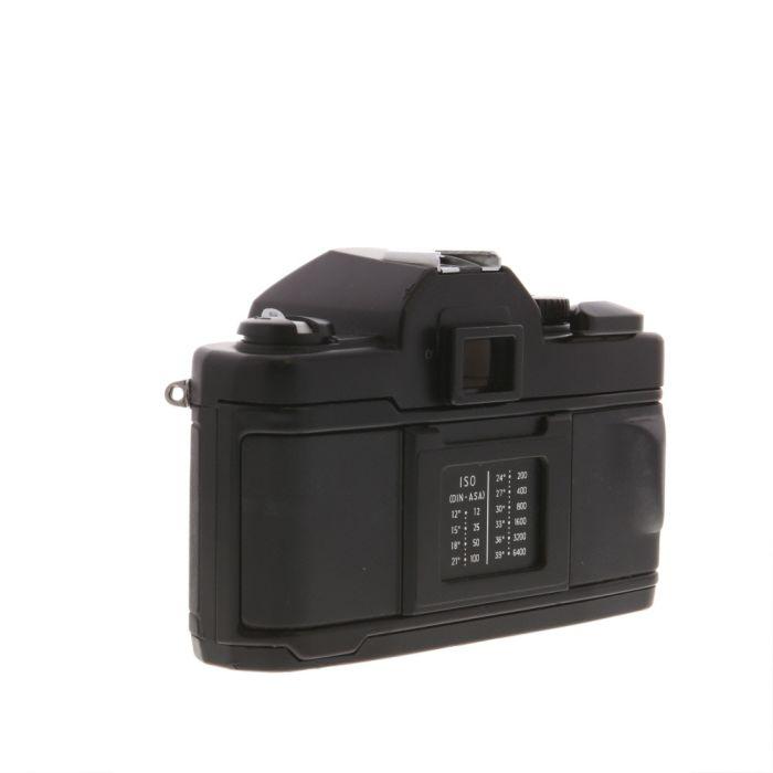 Vivitar V3800N 35mm Camera Body, Black