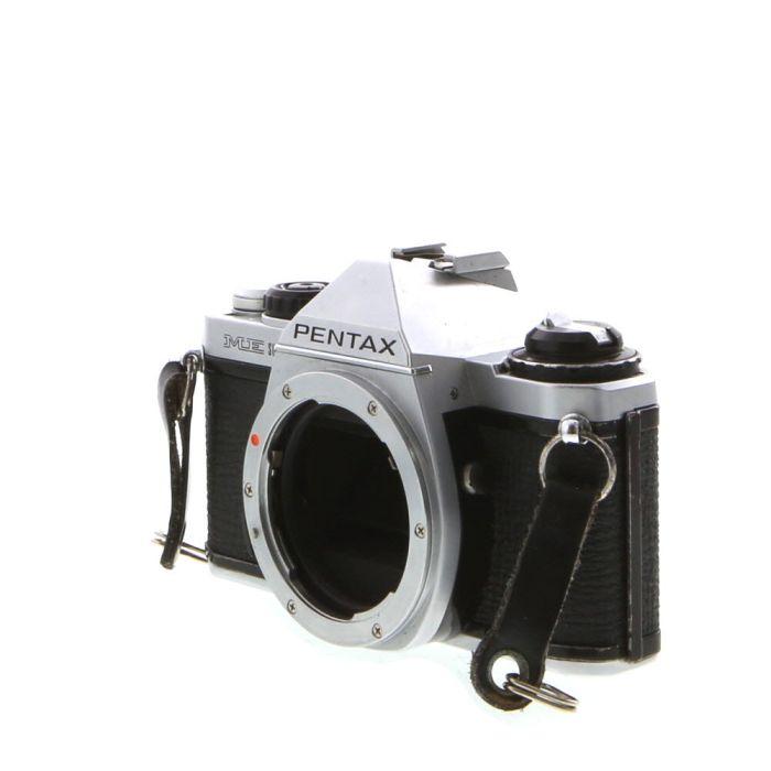Pentax ME Super 35mm Camera Body, Chrome