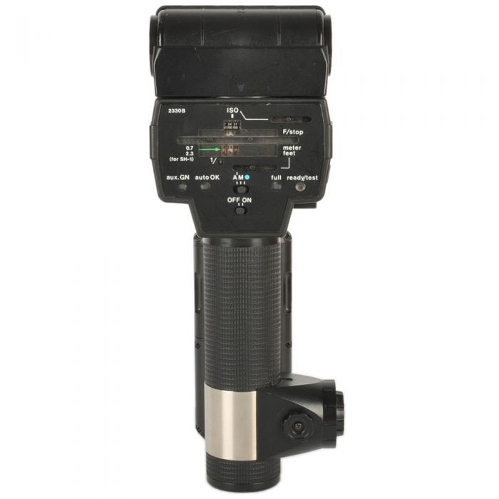 Sunpak 622 Super Handle Mount Flash, with Standard Head SH-1 [GN200] {Bounce, Swivel}