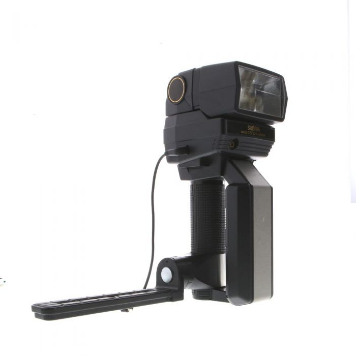 Sunpak 622 Handle Mount Flash, with Diffusion Head DH-1 [GN160] {Bounce, Swivel}