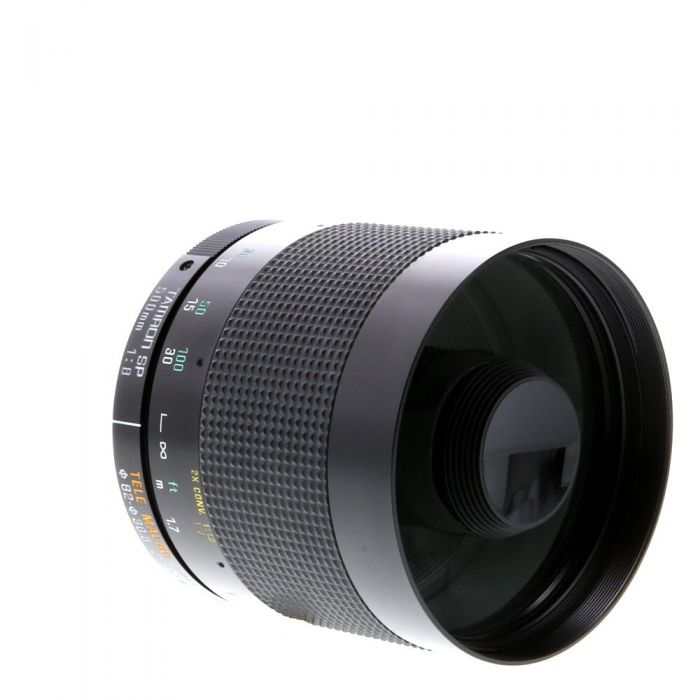 Tamron SP 500mm f/8 Tele Macro (55BB) Lens (Requires Adaptall Mount) {30.5}