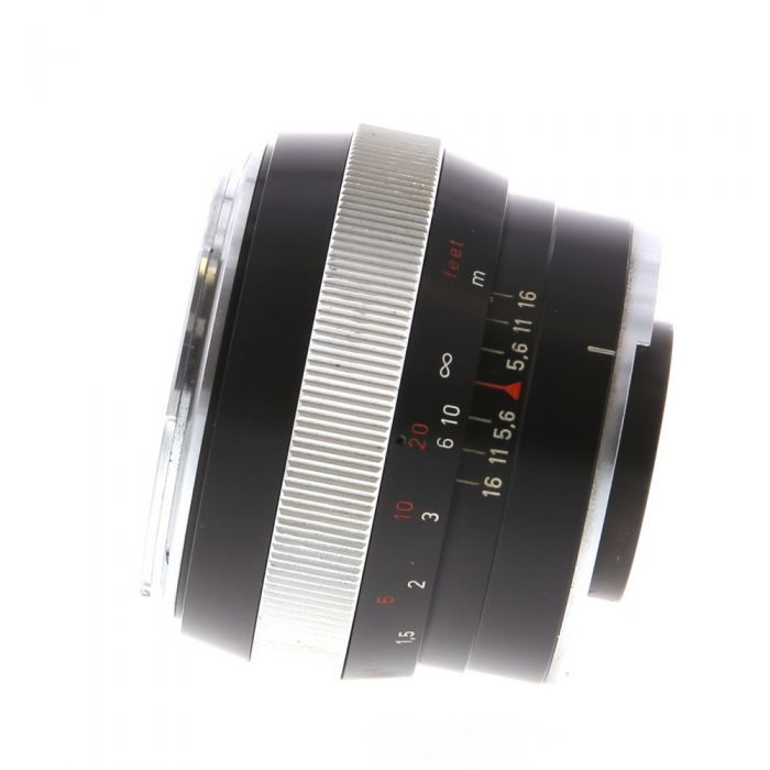 Zeiss 55mm F/1.4 Planar Black Lens For Contarex {B56}