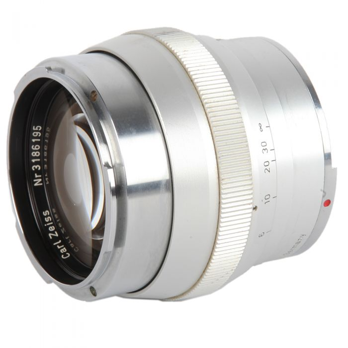 Zeiss 55mm F/1.4 Planar Chrome Lens For Contarex {B56}
