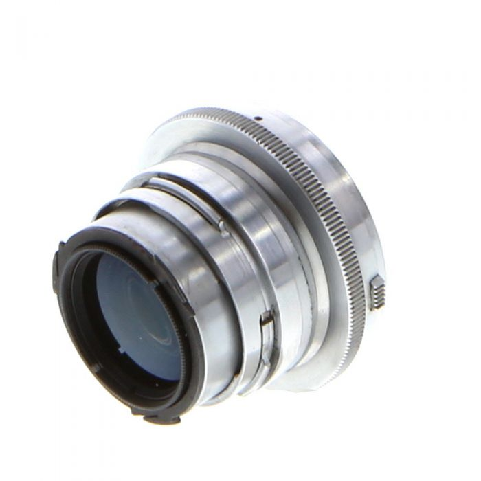 Zeiss 50mm (5CM) F/2 Sonnar Jena Collapsible Chrome Lens for Contax Rangefinder {40.5}