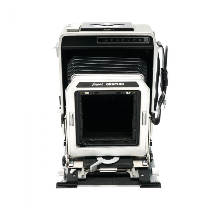 Graflex 4X5 Super Graphic Folding View Camera (Battery Not Available)