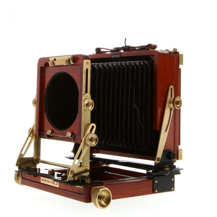 Wista 4x5 Field 45DX Folding View Camera, Rosewood