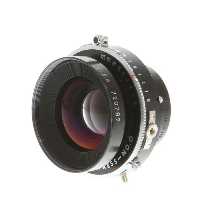 Nikon 135mm f/5.6 Nikkor W Copal Press B (4X5)(35 MT) Lens
