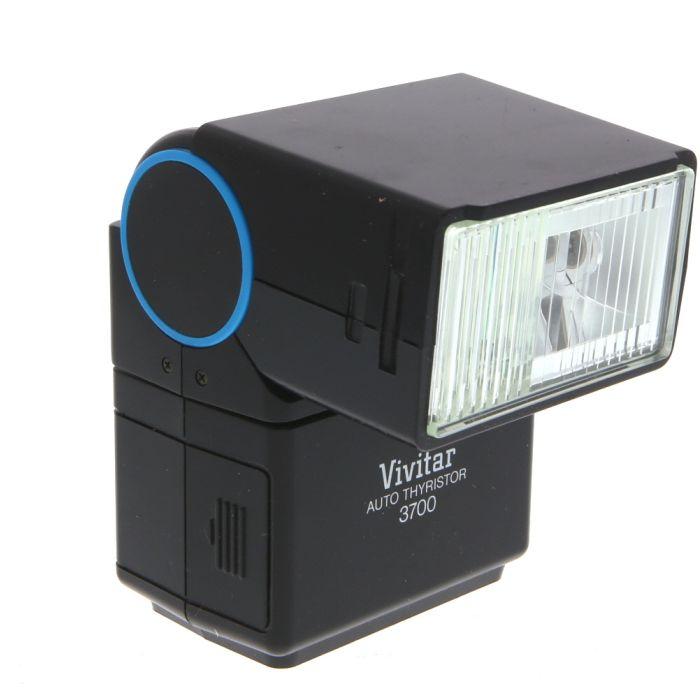 Vivitar 3700 Flash (Requires Module) [GN120] {Bounce, Swivel}