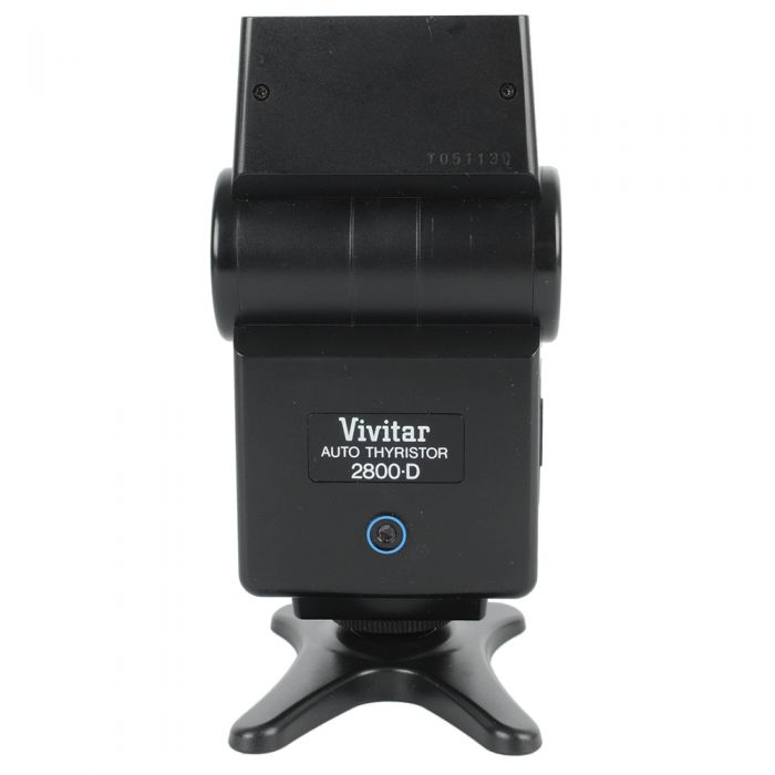 Vivitar 2800D Flash For Canon, Nikon & Ricoh [GN80] {Bounce}