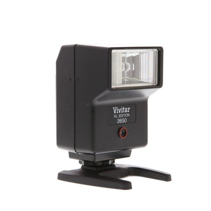 Vivitar 2650 RL Flash For Minolta, Olympus, & Pentax [GN56]