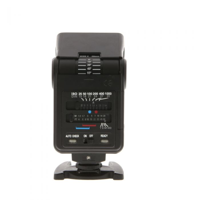 Vivitar 560D Multi Dedicated Flash For Canon, Nikon, Minolta, Pentax [GN80] {Bounce}