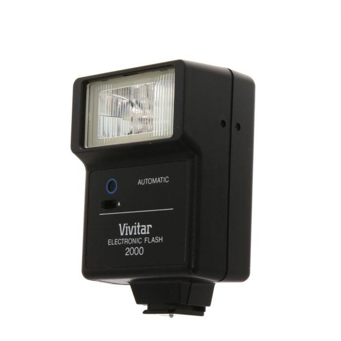 Vivitar 2000 Flash [GN56] {Bounce}