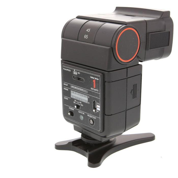 Vivitar 600 Series 1 Flash For Minolta, Olympus, & Pentax [GN80] {Bounce, Swivel, Zoom}