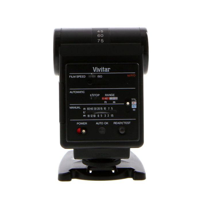 Vivitar 550FD Flash For Minolta, Olympus, & Pentax [GN80] {Bounce}