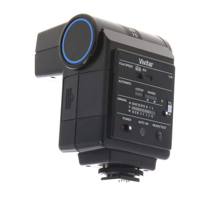 Vivitar 550FD Flash For Canon & Ricoh [GN80] {Bounce}
