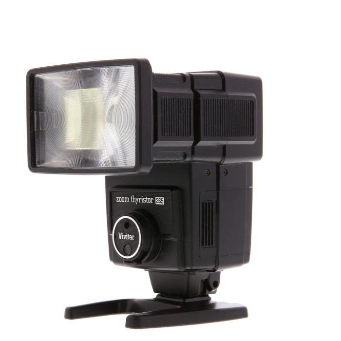 Vivitar 265 Flash [GN80] {Zoom}