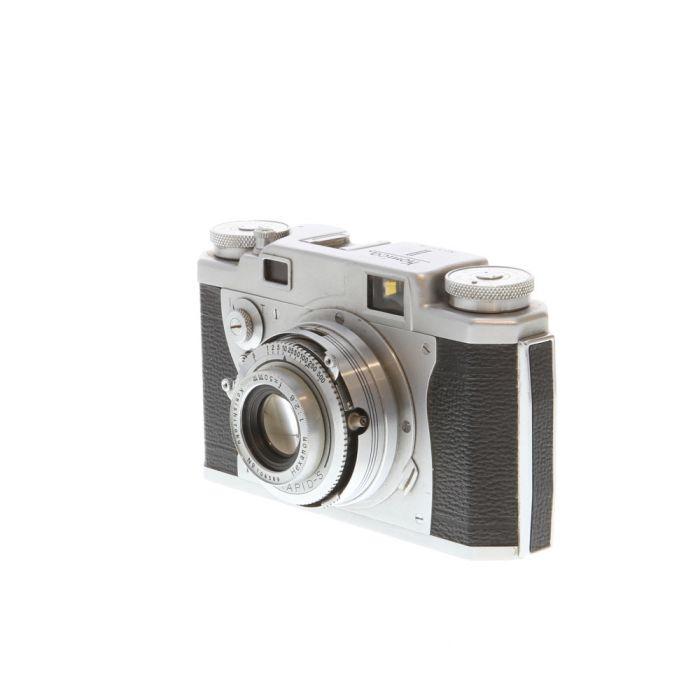 Konica II with 50mm f/2.8 Hexanon Konirapid-S B 35mm Camera
