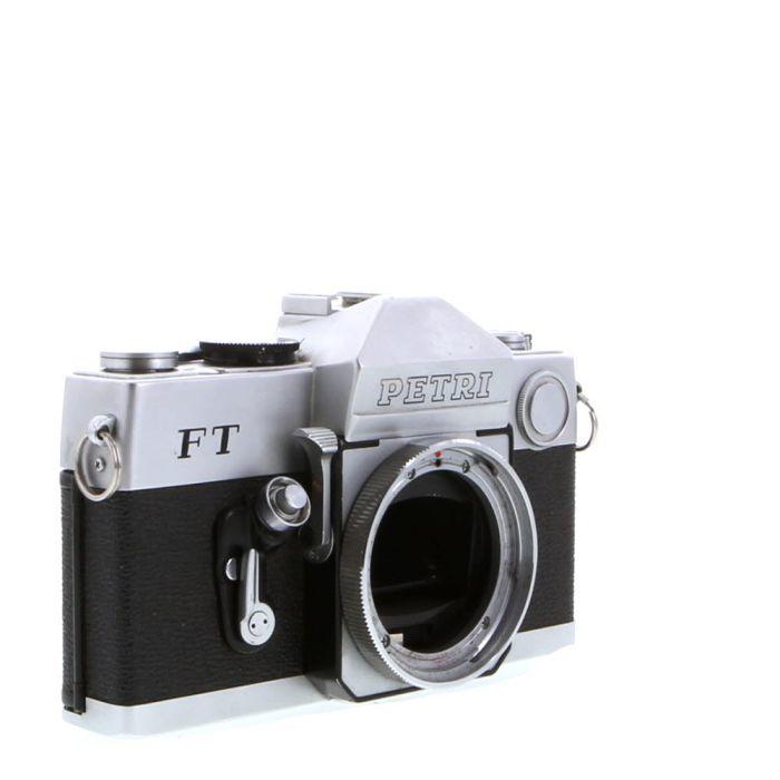 Petri FT Chrome 35mm Camera Body