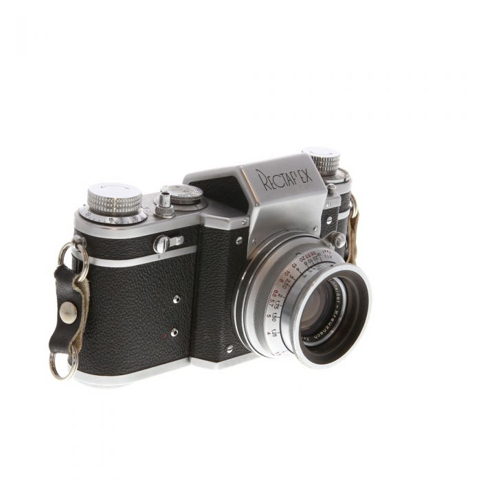 Rectaflex Standard 1300 35mm Camera with 50mm F/2 Xenon