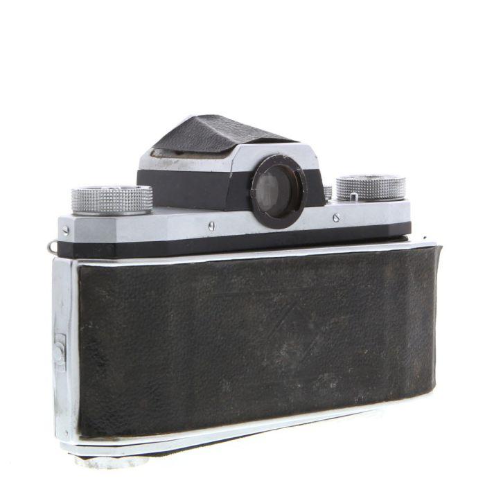 KW Praktica IV M42 Mount 35mm Camera Body, Chrome