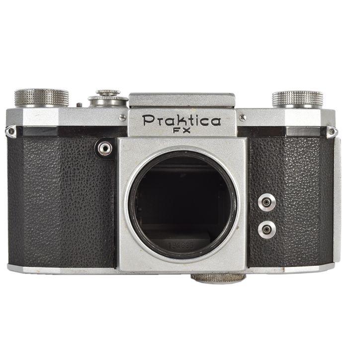 KW Praktica FX (2 Synch) 35mm Camera Body