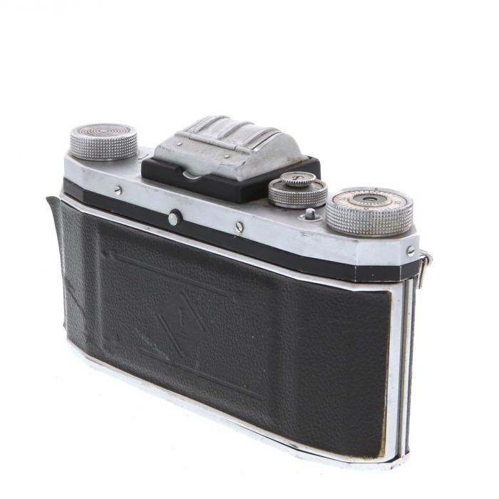 KW Praktica FX3 M42 Mount 35mm Camera Body, Chrome
