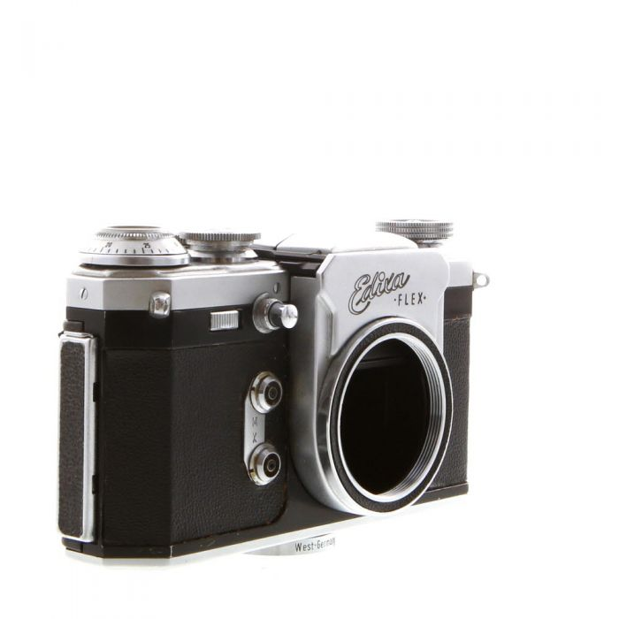 Wirgin Edixa Flex (c1958) with Waistlevel Hood, 35mm Camera Body