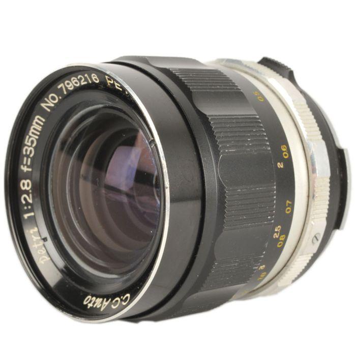 Petri 35mm F/2.8 CC Auto Lens {52}