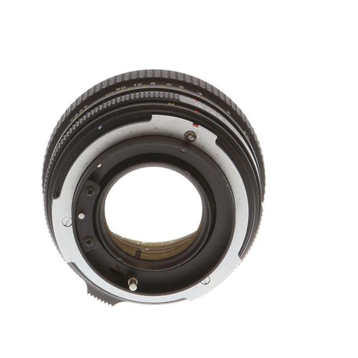 Petri 55mm F/1.8 EE Auto Lens {52}