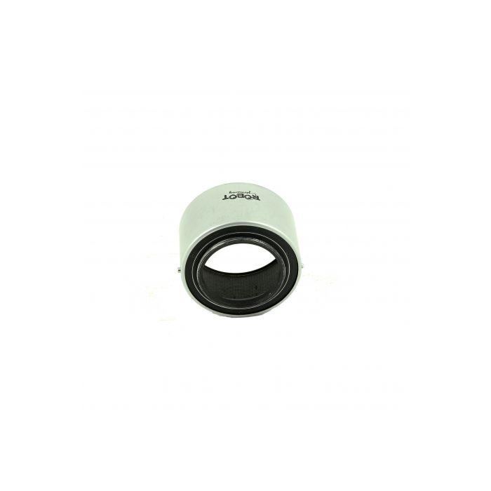 38 Chrome Robot Lens Hood