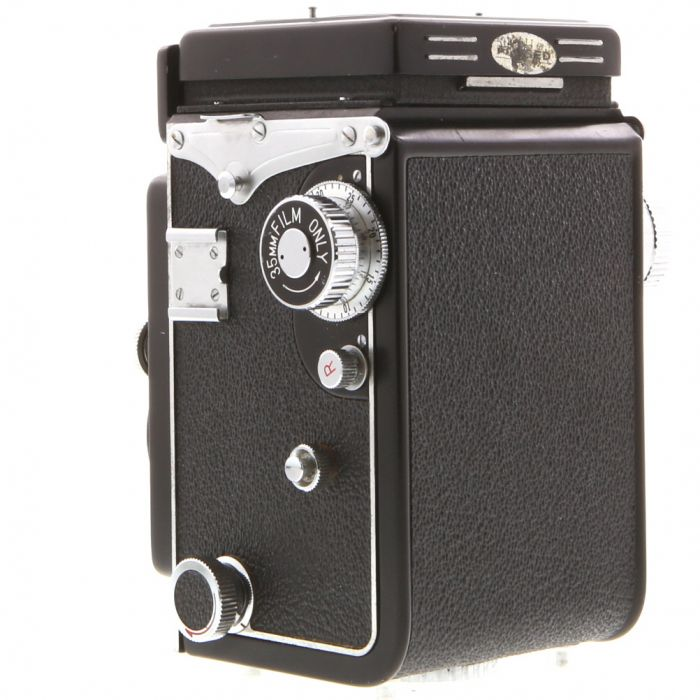 Yashica 635 Medium Format TLR Camera With 80mm F/3.5 Yashikor, With 35mm Conversion Kit
