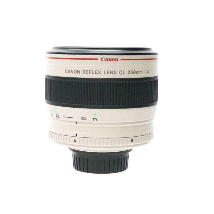 Canon CL 250mm f/4 Reflex AF VL-Mount Lens
