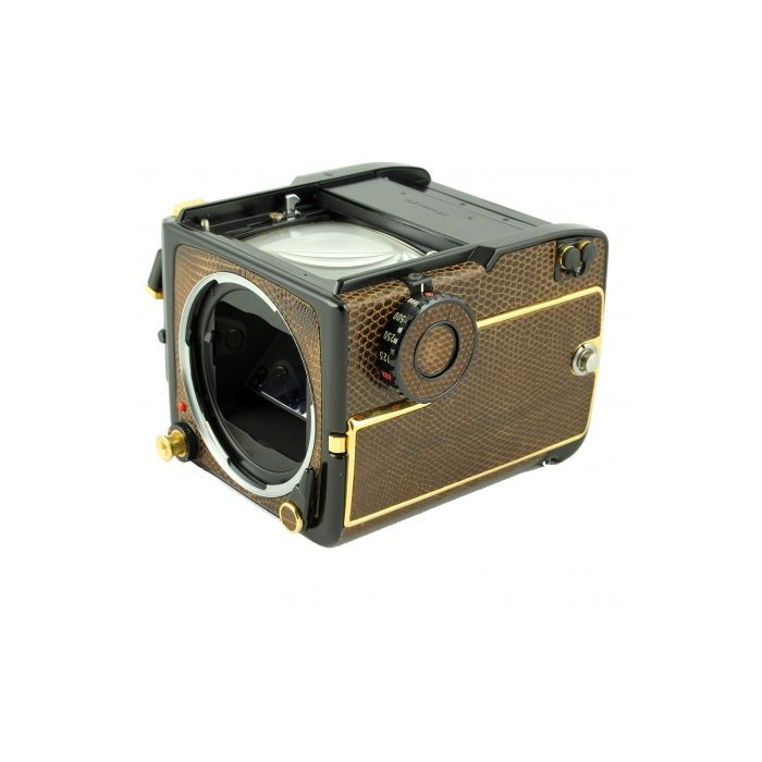 Mamiya M645 1000S Gold/Lizard Medium Format Camera Body