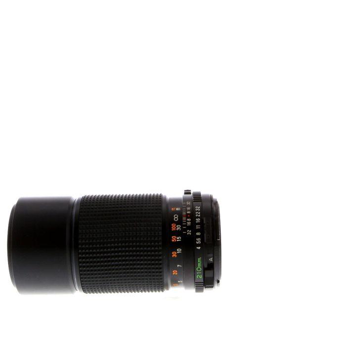 Mamiya 210mm F/4 Lens For Mamiya 645 Manual Focus {58}